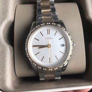 Fossil two tone watch